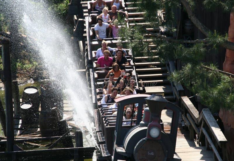 Trem de Disneylâandia imagem de stock