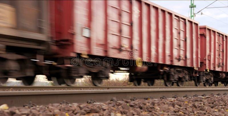 Trem de frete imagens de stock