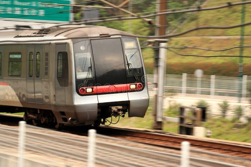 Trem de Hong Kong imagens de stock