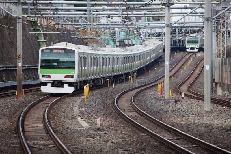 Trem de Japão fotografia de stock royalty free