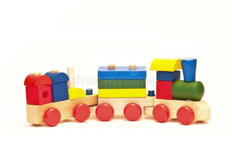 Trem do brinquedo fotografia de stock royalty free
