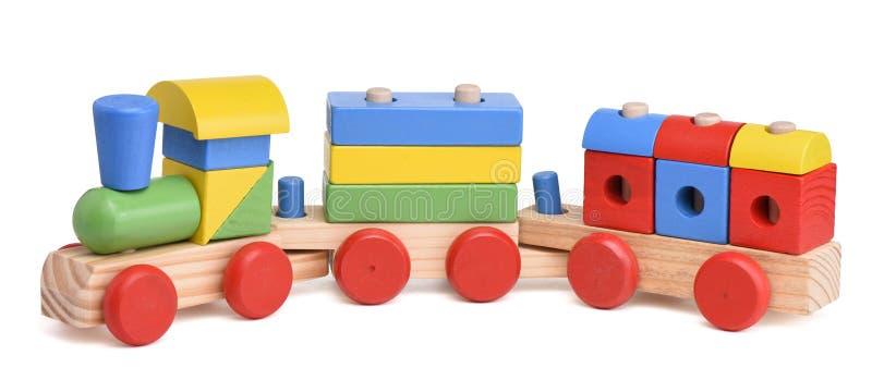 Trem do brinquedo do Pewter com letras imagem de stock