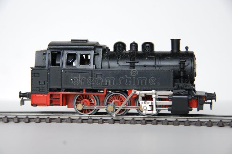 Trem do brinquedo do vintage imagem de stock royalty free