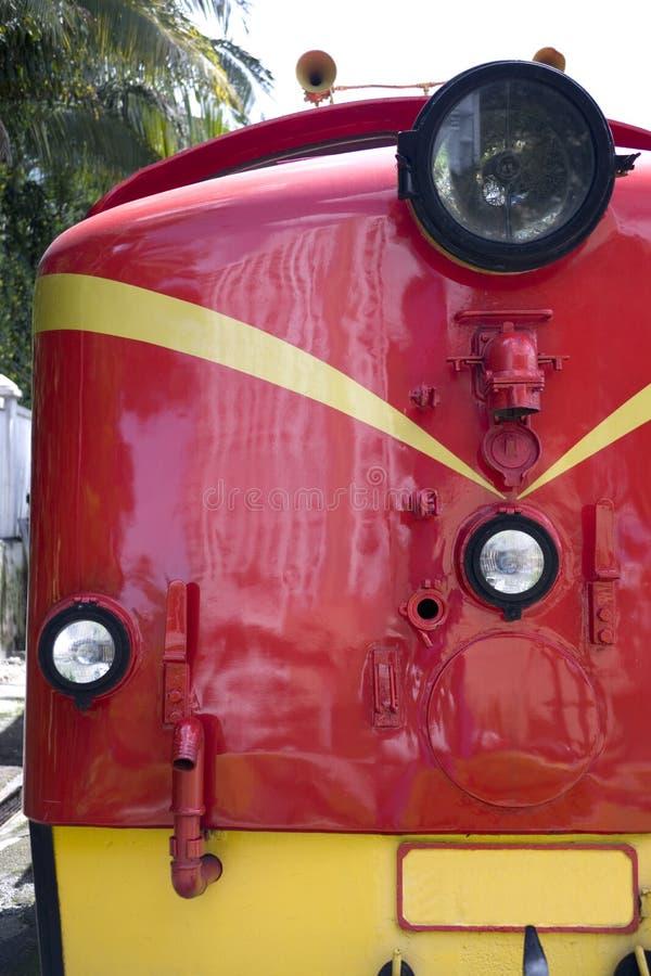 Trem do diesel do vintage imagem de stock royalty free