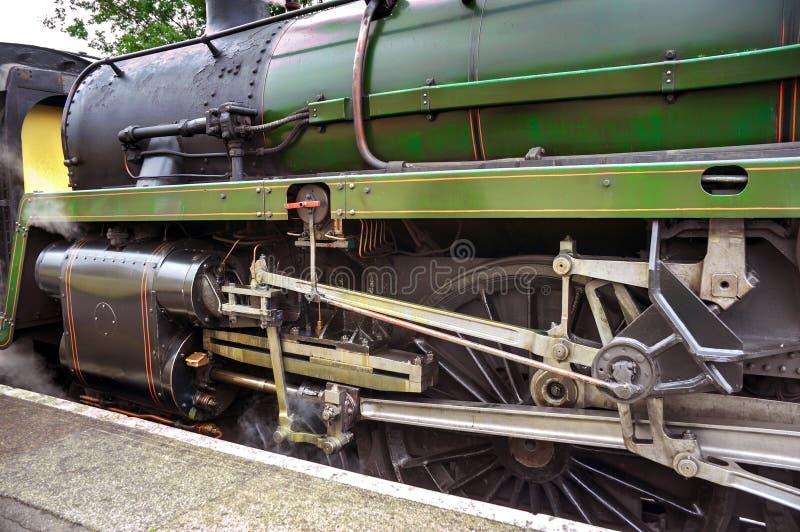 Trem do motor de vapor foto de stock royalty free