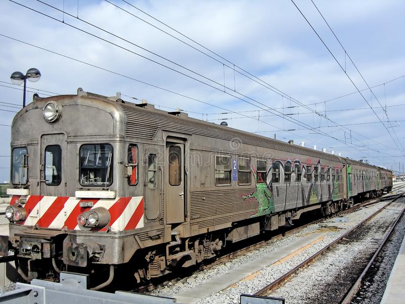 Trem do português imagens de stock