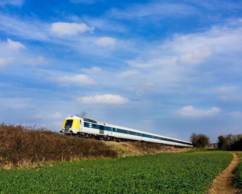 Trem do TGV 125 do protótipo imagem de stock