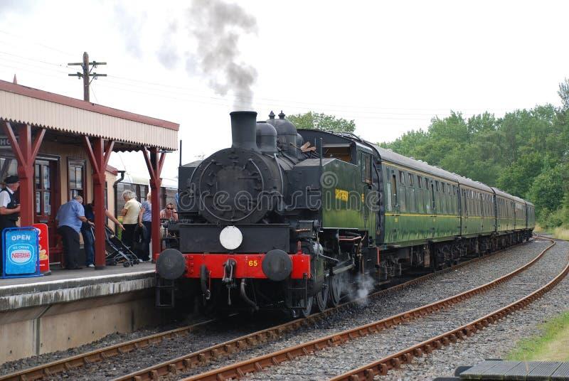 Trem do vapor, Bodiam imagem de stock royalty free