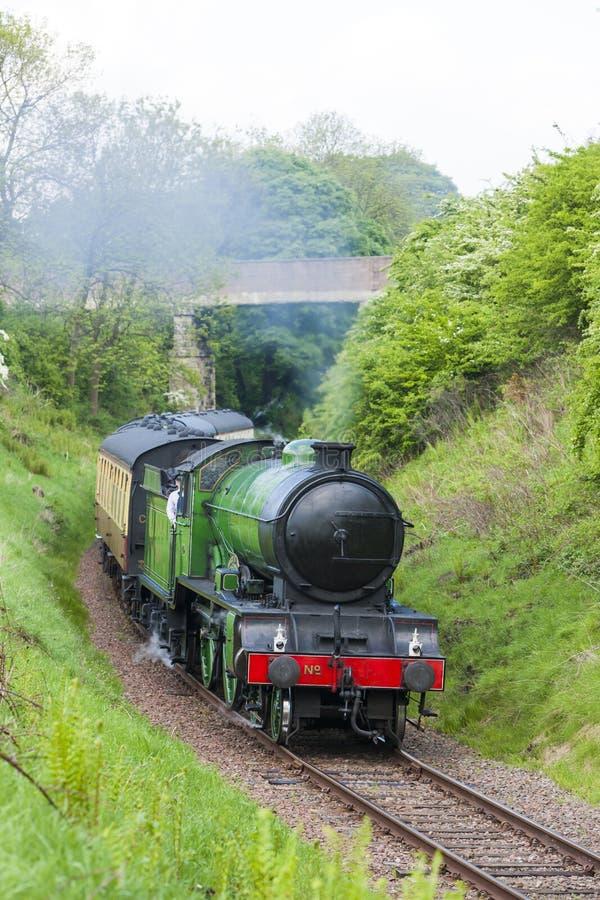 Trem do vapor, Escócia imagem de stock