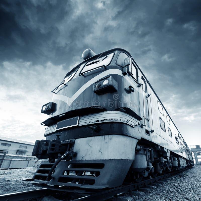 Trem do vintage foto de stock royalty free