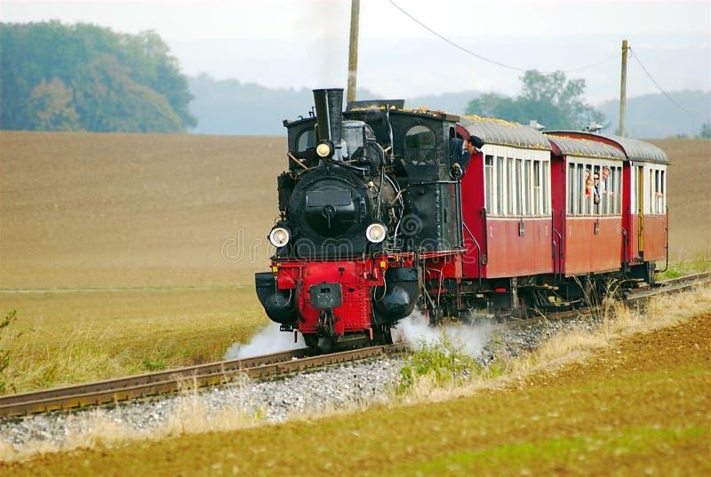 Trem histórico imagem de stock