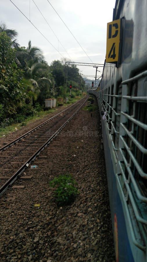 Trem indiano imagem de stock