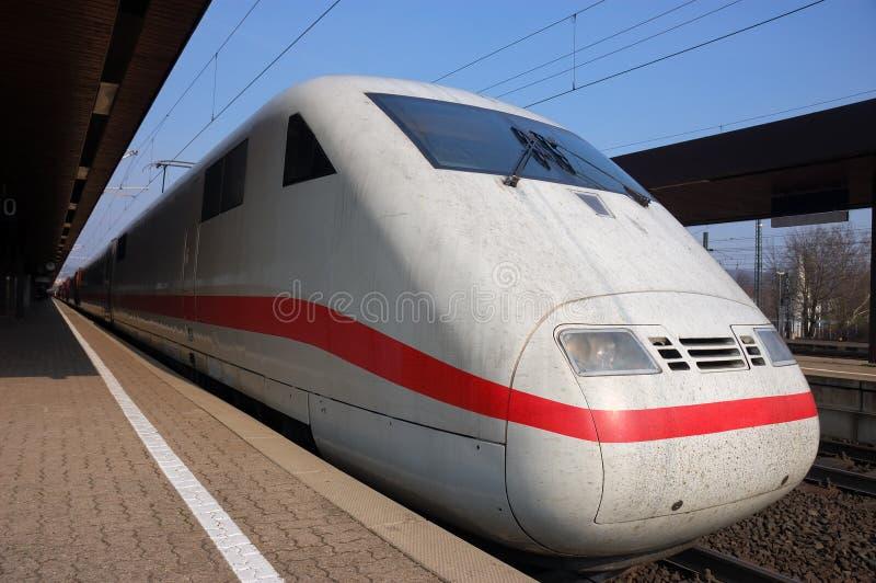 Trem rápido alemão fotos de stock royalty free