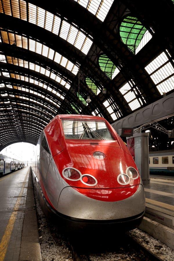 Trem rápido europeu foto de stock royalty free