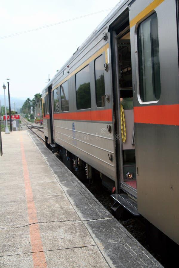 Trem Railway em Formosa   fotografia de stock royalty free