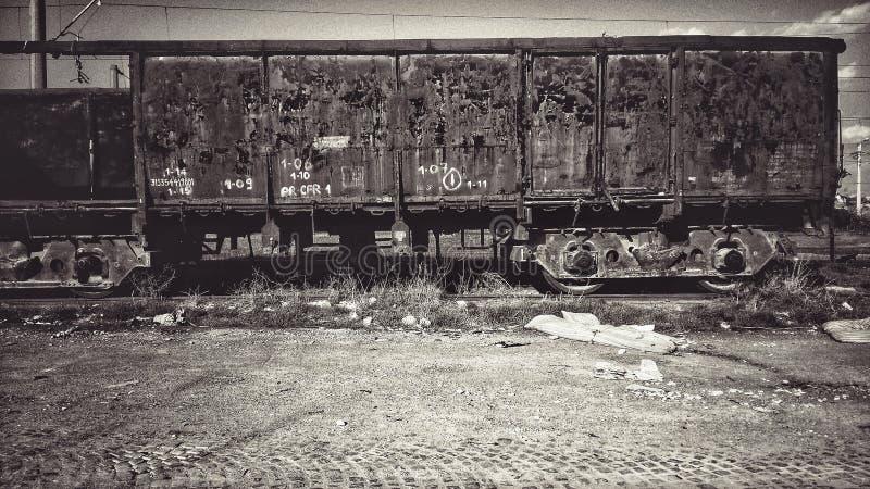 Trem velho imagens de stock