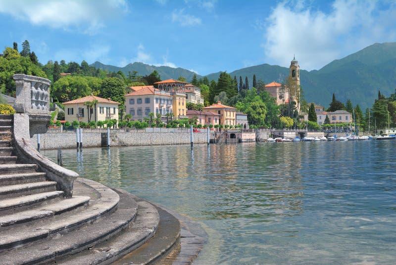 Tremezzo, Meer Como, Lombardije, Italië stock afbeeldingen