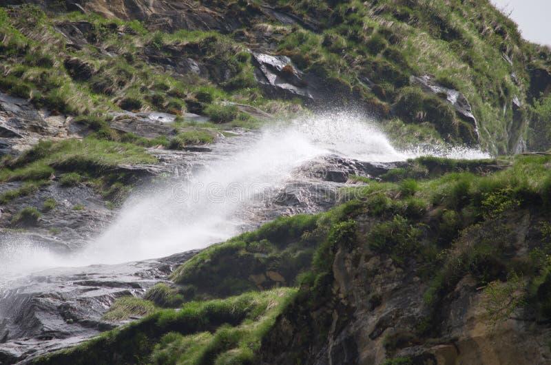 Tremplin pour la cascade photographie stock