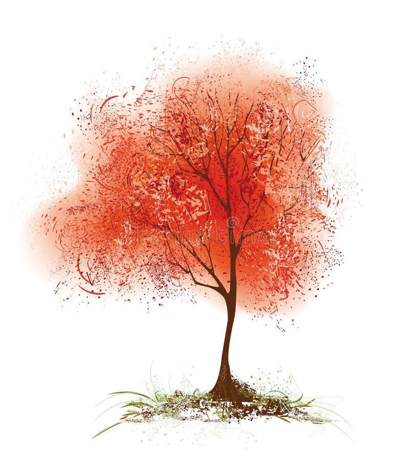 Download Tremula rossa illustrazione vettoriale. Illustrazione di tremula - 7307632