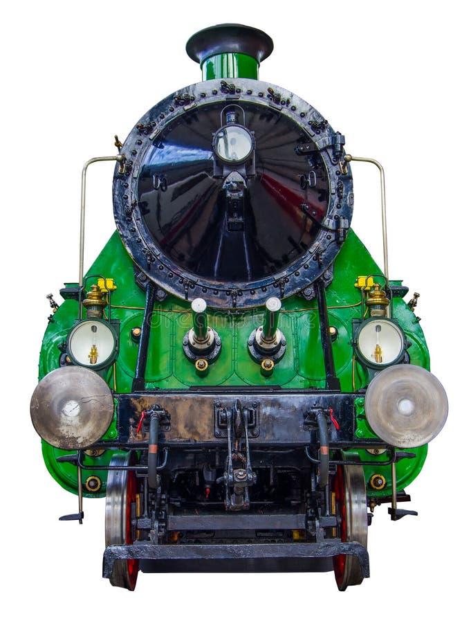 Tren aislado del vapor imagen de archivo