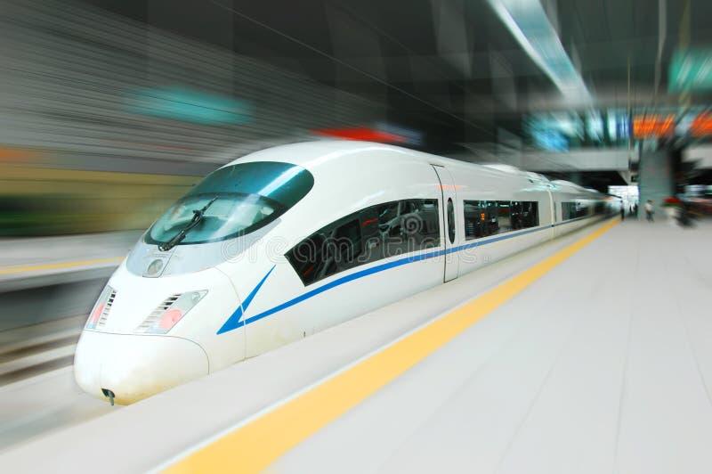 Tren de alta velocidad fotografía de archivo libre de regalías