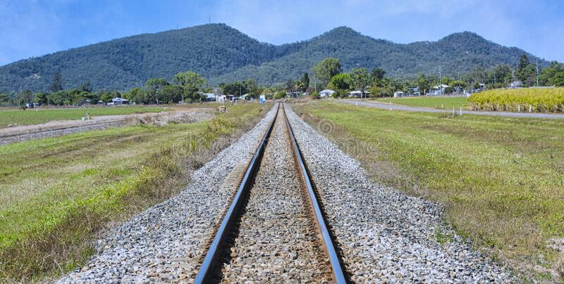 Tren de azúcar en Queensland del Norte foto de archivo