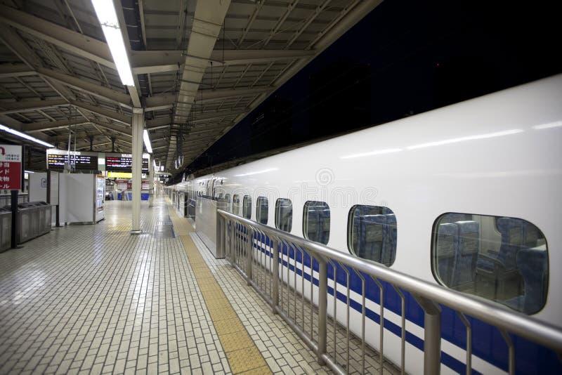 Tren de bala de Shinkansen fotos de archivo