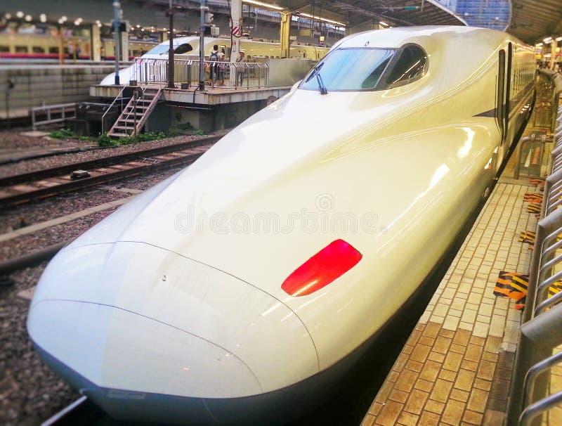 Tren de bala en Japón imagenes de archivo