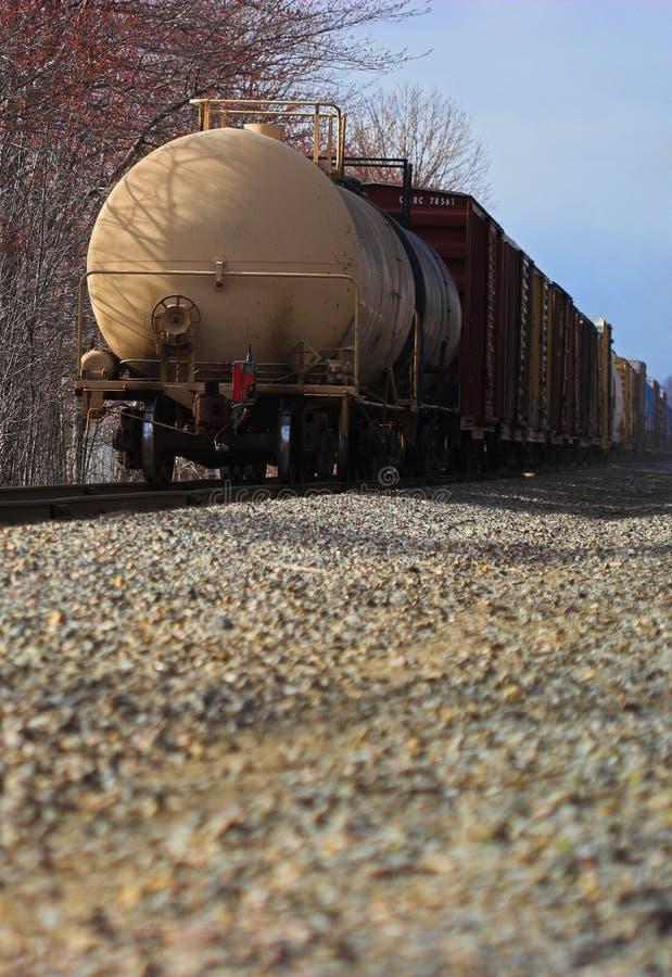 Download Tren de carga foto de archivo. Imagen de motor, ferrocarril - 1289216