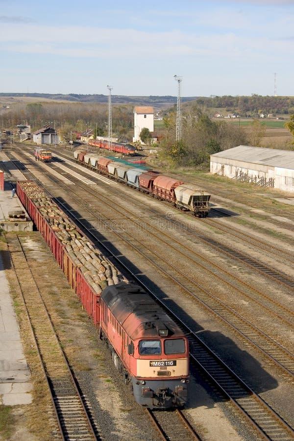 Tren de carga foto de archivo