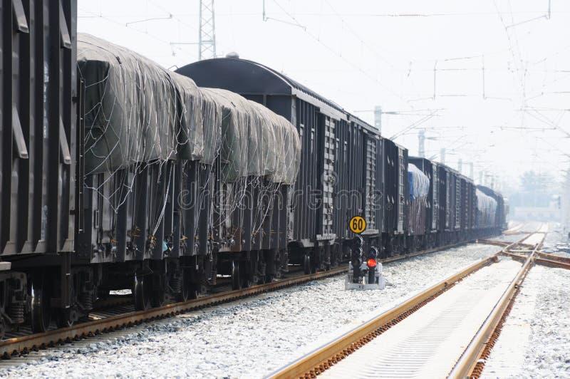 Tren de carga foto de archivo libre de regalías