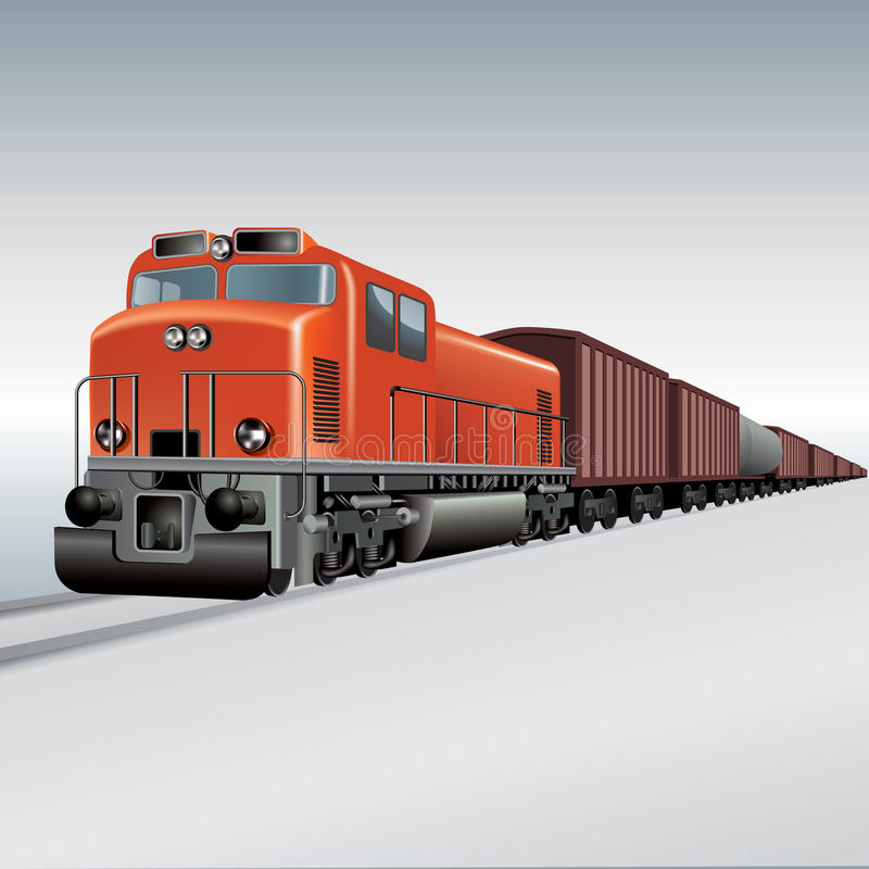 Tren de carga libre illustration