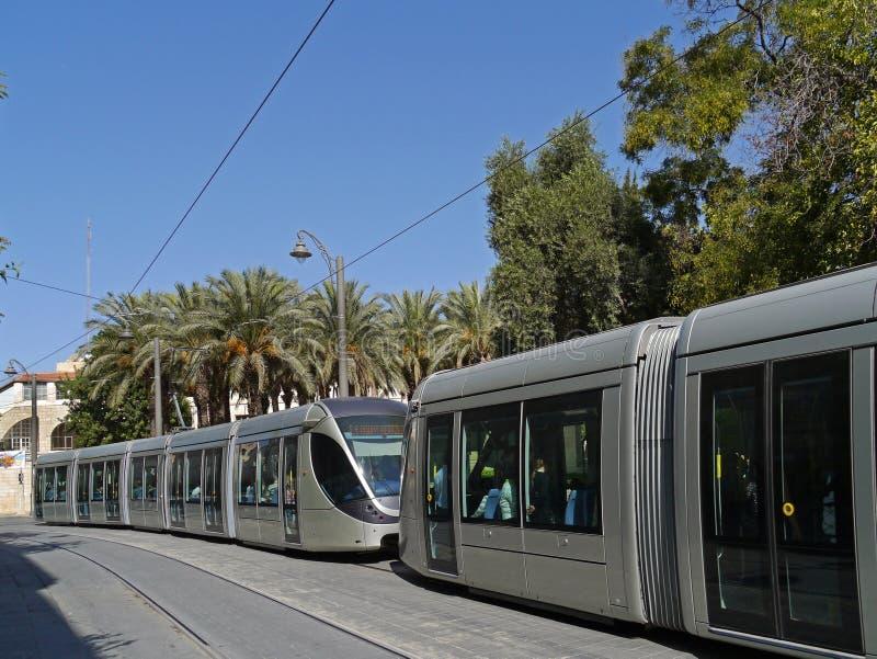 Tren de cercanías de Jerusalén fotos de archivo libres de regalías
