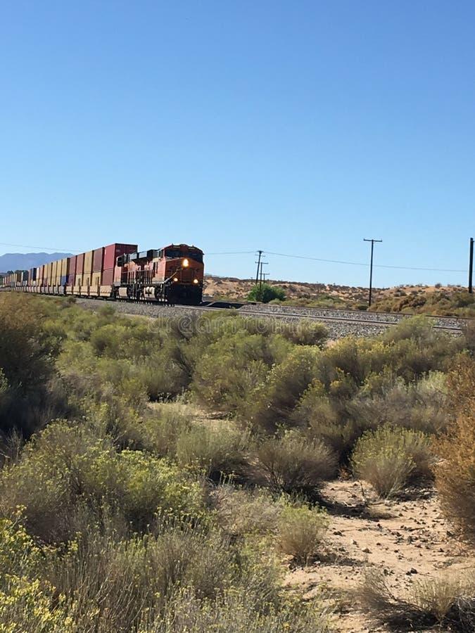 Tren de colores foto de archivo