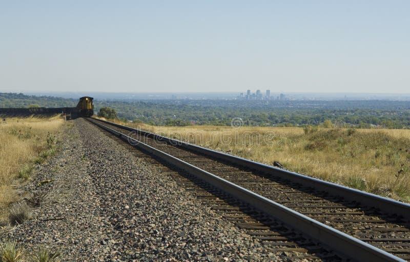Tren de Denver imagen de archivo