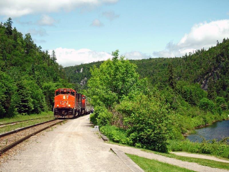 Tren De La Barranca De Agawa. Imagenes de archivo