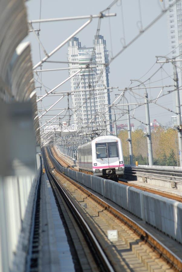 Download Tren De La Ciudad De Shangai Foto de archivo - Imagen de recorrido, china: 7283444