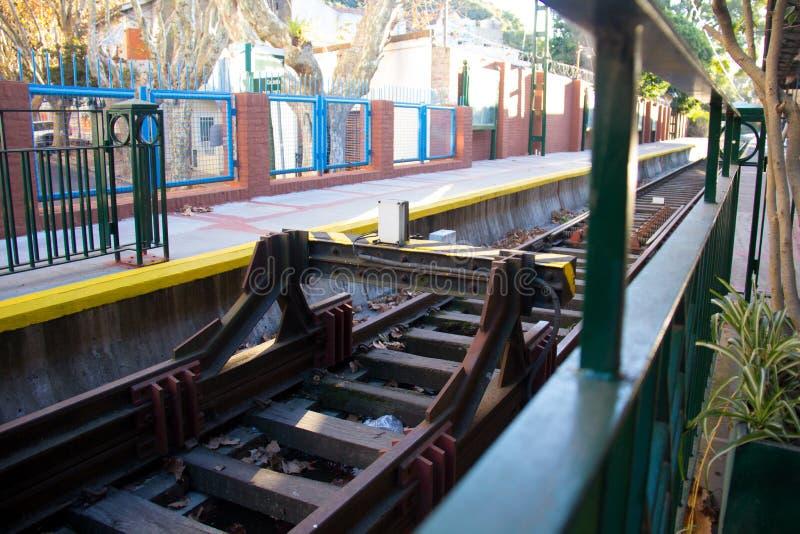 Tren de La Costa, Buenos Aires, la Argentina fotos de archivo