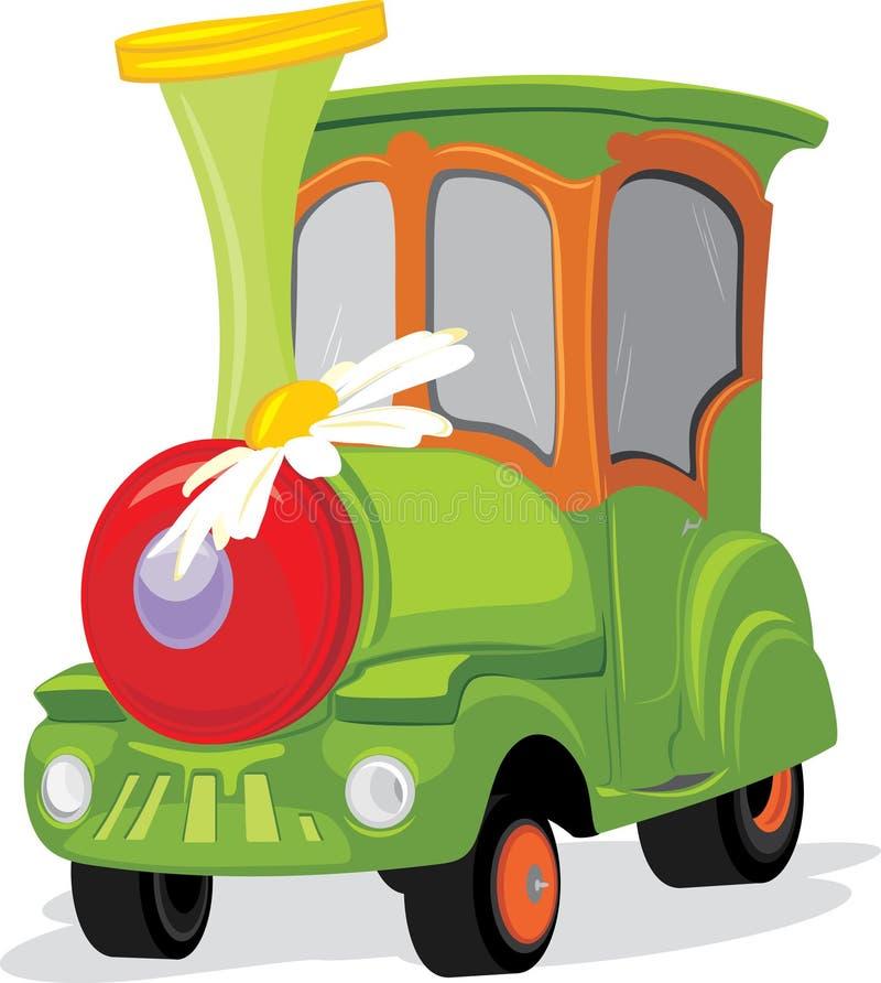 Download Tren de los niños ilustración del vector. Ilustración de motor - 44850941