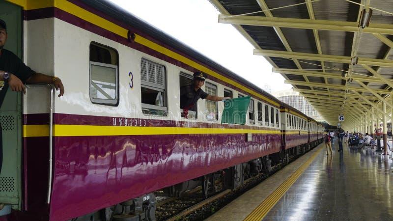 Tren de Tailandia fotografía de archivo