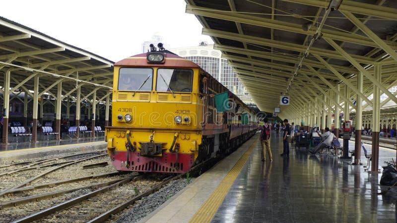 Tren de Tailandia fotos de archivo libres de regalías