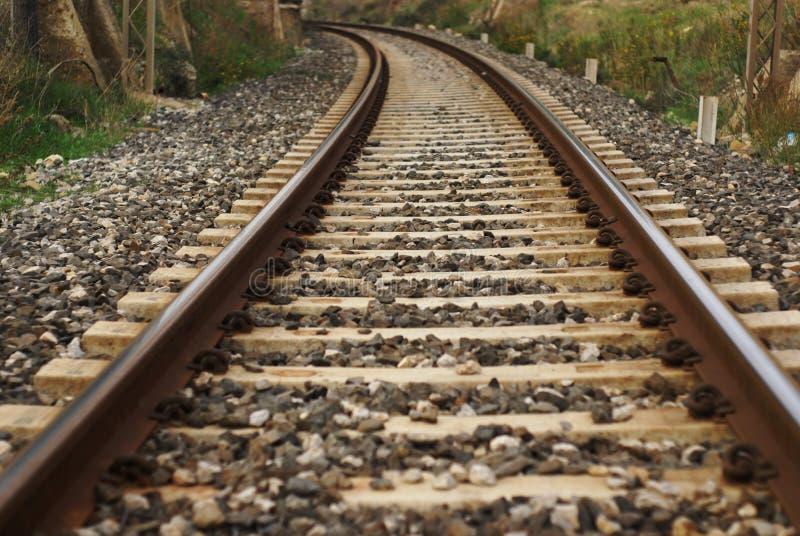 Tren del carril foto de archivo libre de regalías