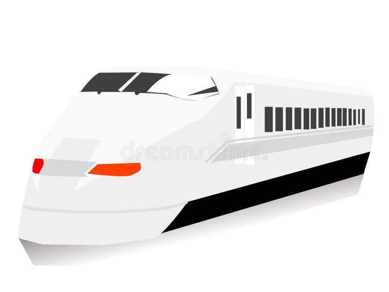 Tren del metro stock de ilustración