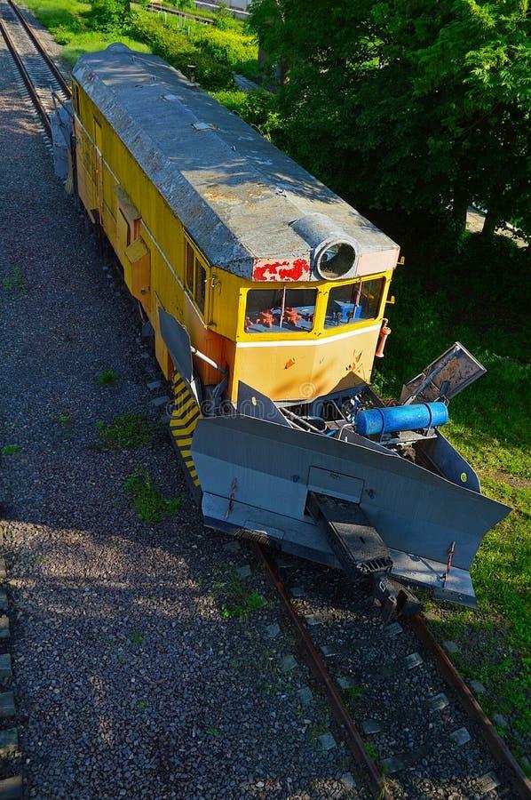 tren del Nieve-claro fotos de archivo
