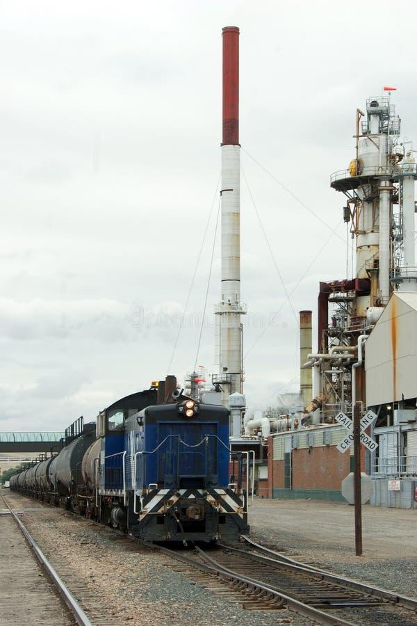 Tren del petróleo foto de archivo libre de regalías