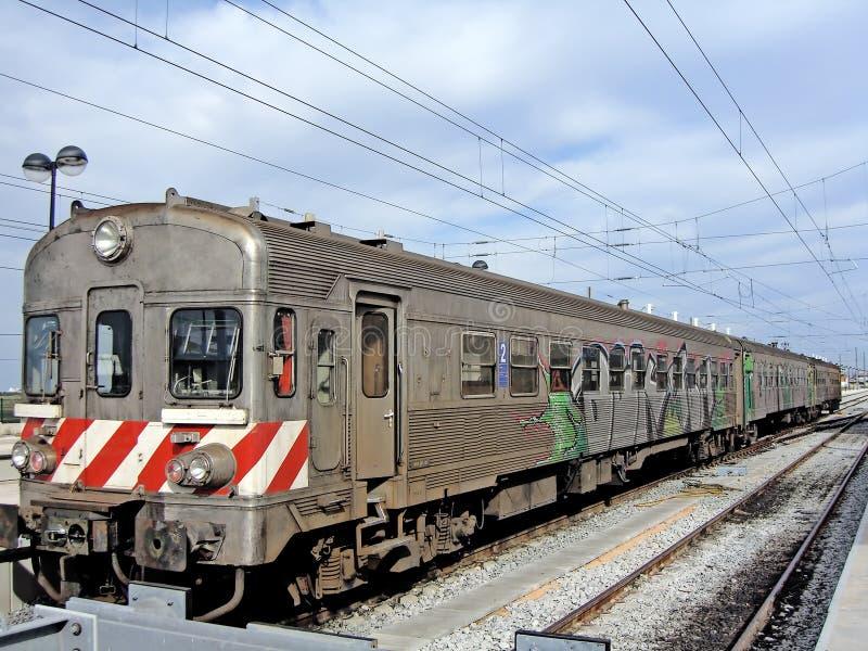 Tren del portugués imagenes de archivo