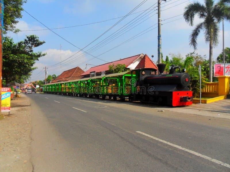 Tren del turismo en Sugar Mill foto de archivo