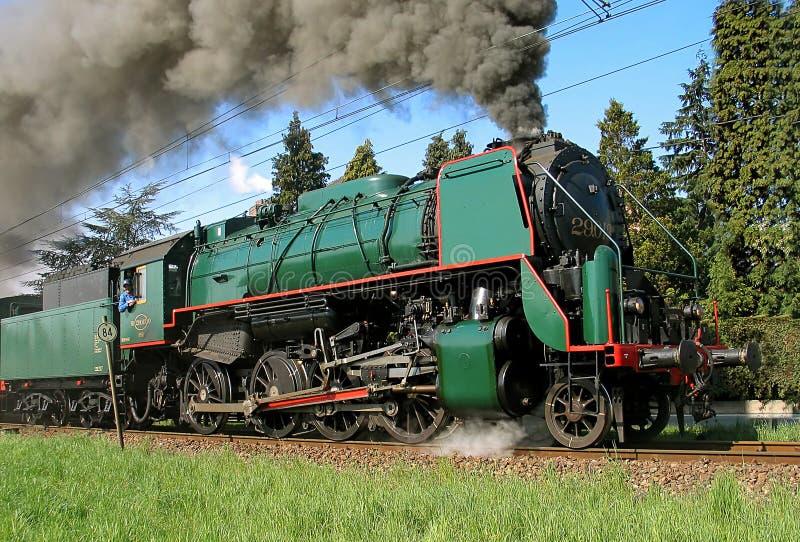 Tren del vapor foto de archivo