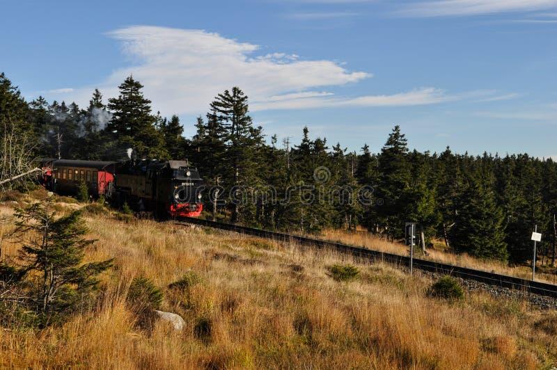 Tren del vapor de Harz imagen de archivo libre de regalías