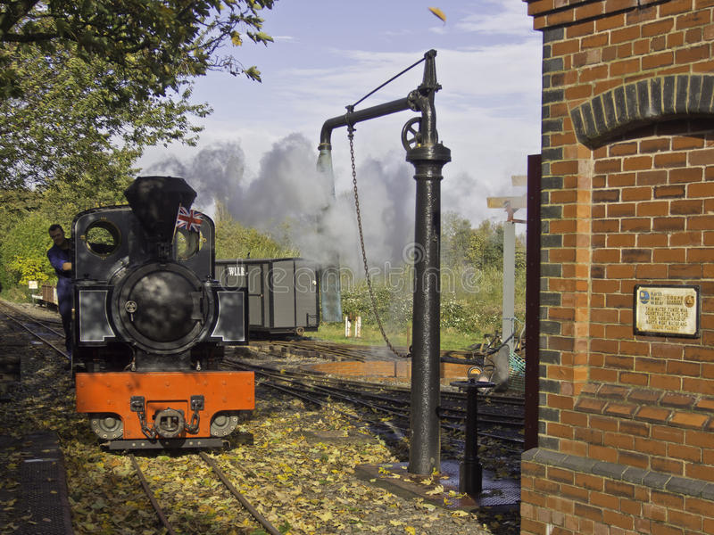 Tren del vapor de WLLR fotografía de archivo